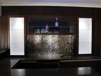 Bundoora Custom Home Bar