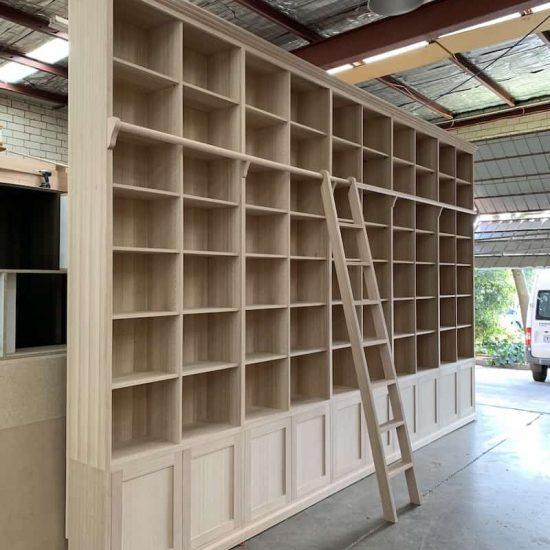 tasmanian oak timber bookcase ready to paint_7237-min