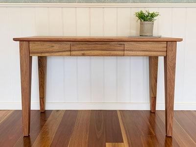 Lincoln blackwood solid timber desk