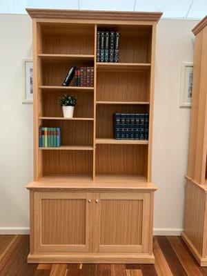 Federal-tasmanian-oak-hardwood-bookcase-hutch-doors